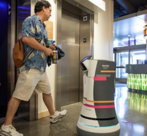 Meet Botlr. The robot butler. (Credit: Aloft Hotels)