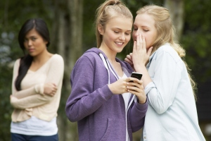 Mean Girls. They're mobile now. (Thinkstock)