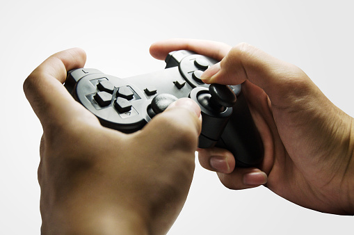 Play videogame with controller